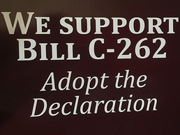 We support Bill C-262